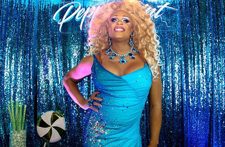 Transvrouw Peppermint, oud-deelneemster aan de RuPaul Drag Race