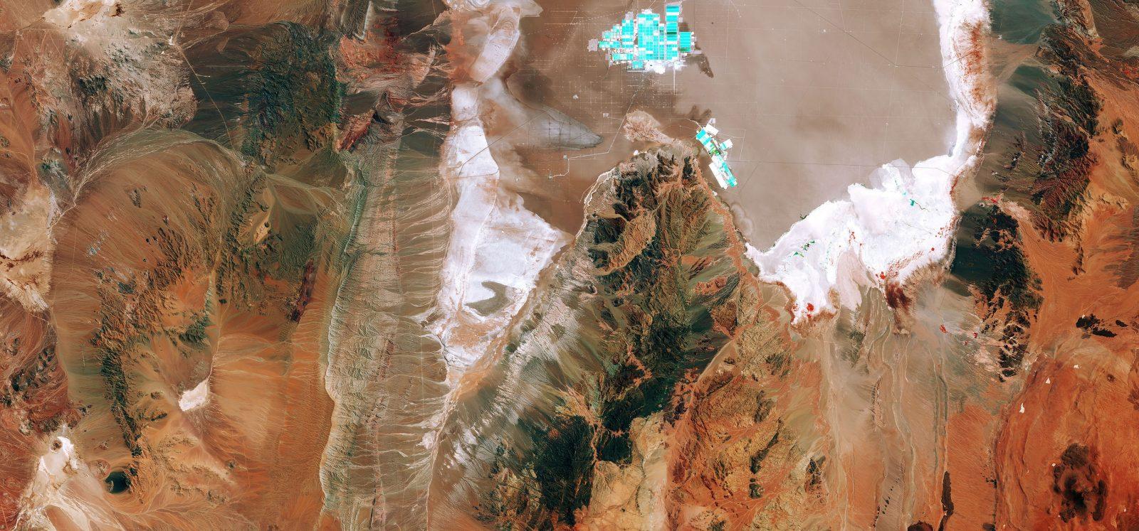 Chile's salt flat