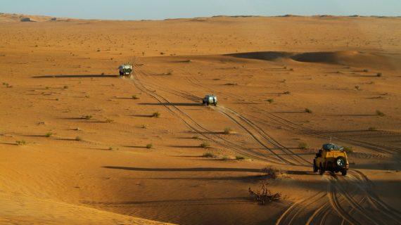 De Sahara woestijn