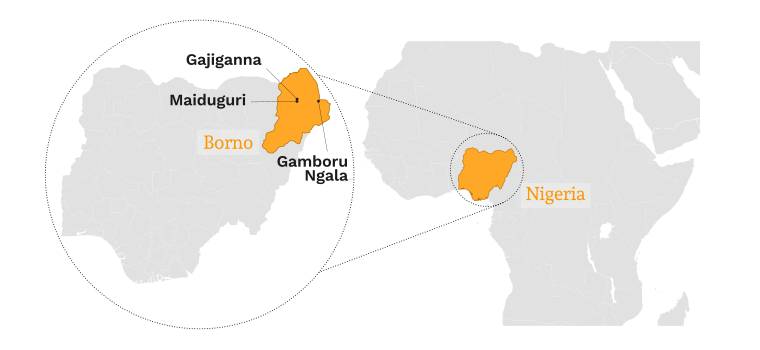 nigeria_kaart