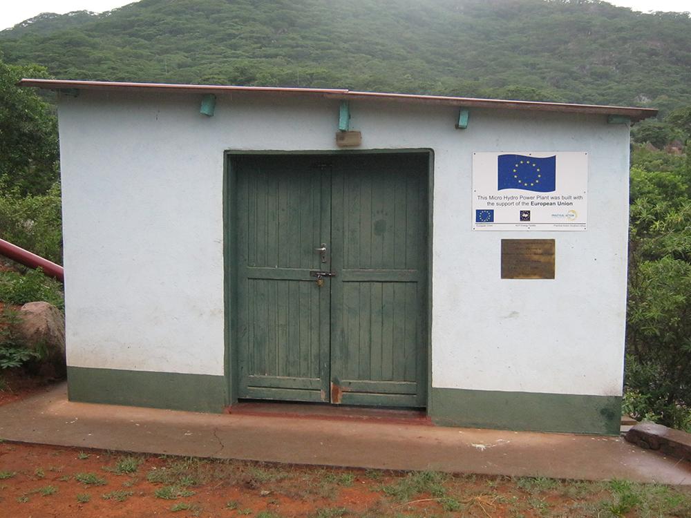 mini-waterkrachtcentrale