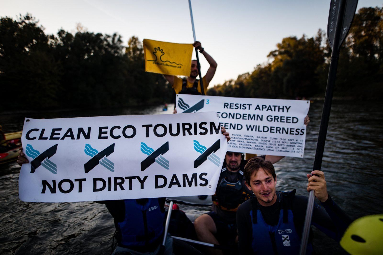 protest dam