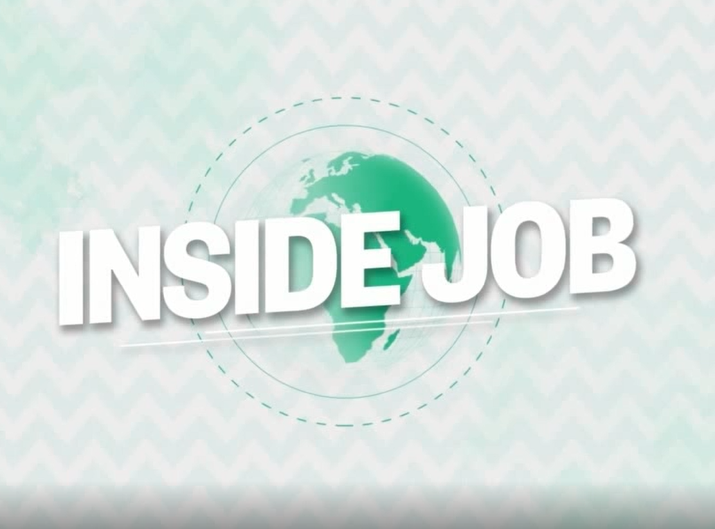 inside job – voorkant